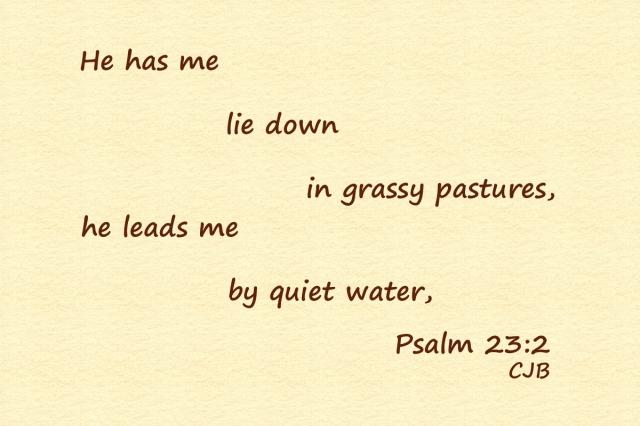 Psalm 23-2