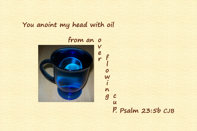 Psalm 23-5b